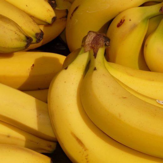 Bananen, Gelbe Bohnen, Gemüse, Einkaufen, Kinder, Bohnen, gesünder essen für kinder, schnelles essen für kinder, gesundes essen für kinder