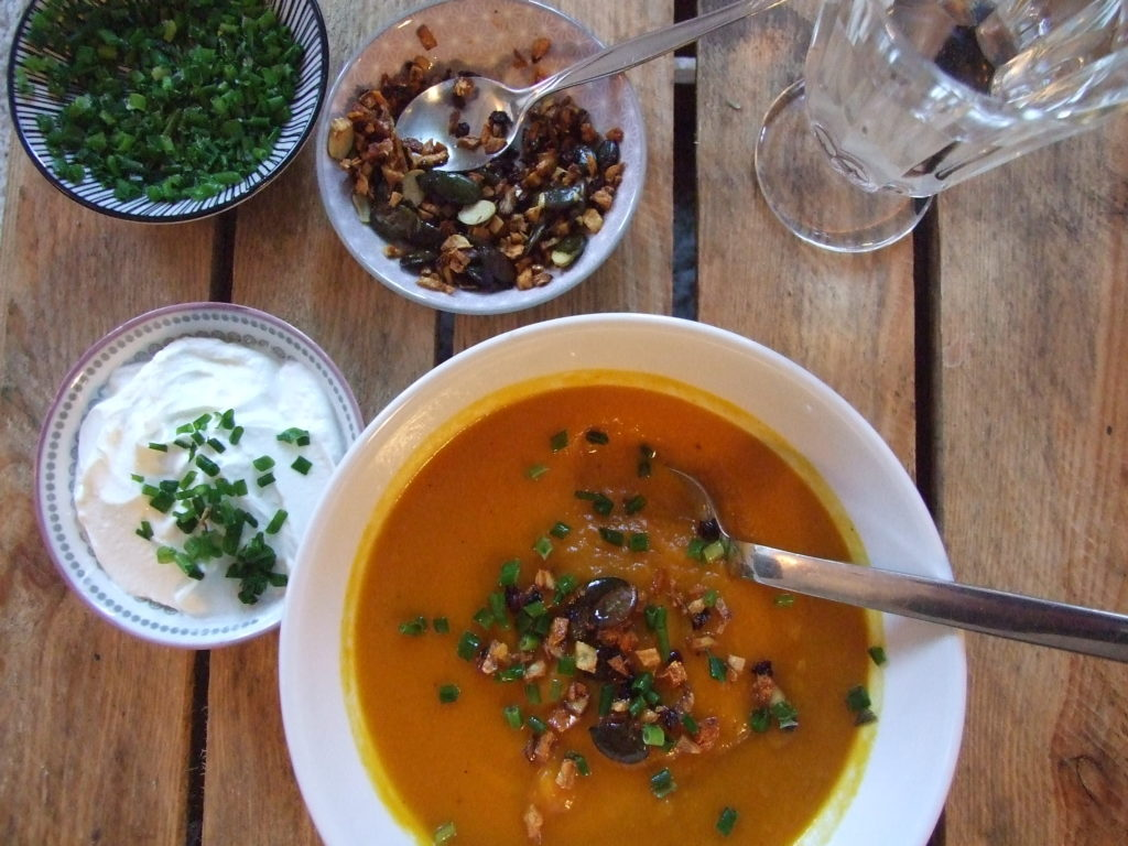 Suppe, Kürbis, Kürbissuppe